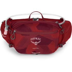 Osprey Seral Hoftetaske 7l, molten red